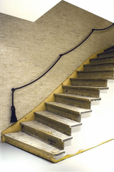 Treppenrenovierung vorher